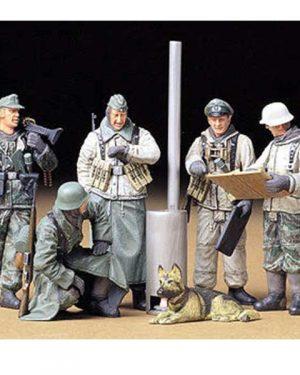 soldati tedeschi in riunione scala 1:35 Tamiya 35212