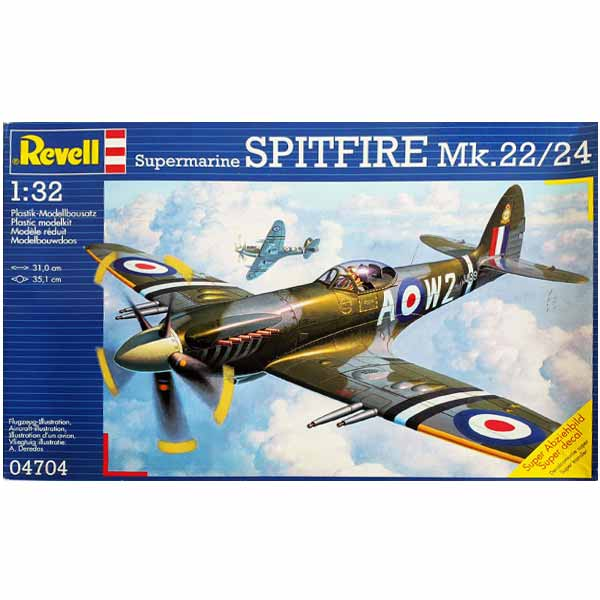 Supermarine SPITFIRE Mk.22/24 1/32 revell