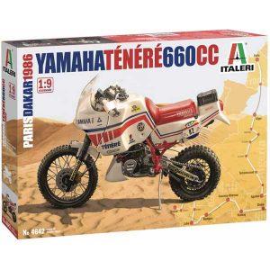 Yamaha Tenere 660 cc italeri 1-9