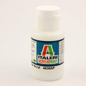 colore acrilico trasparente italeri