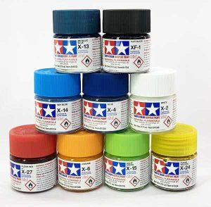 Colori Tamiya acrilici XF