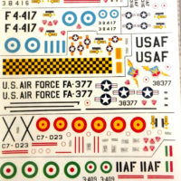 decal F-5 freedom fighter