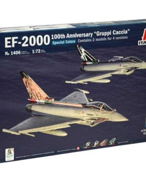 eurofighter typhoon 100th italeri scala 1:72