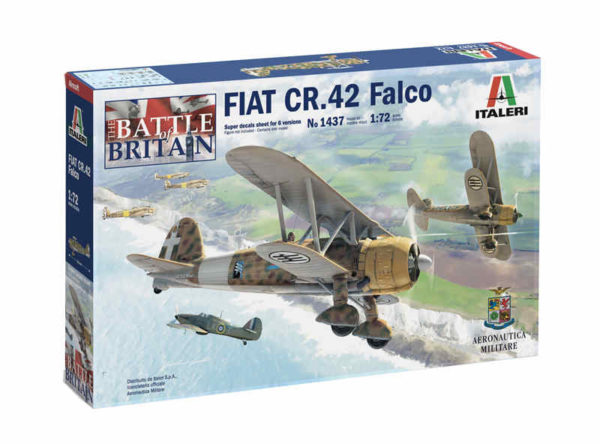 Fiat CR 42 Falco Italeri scala 1:72