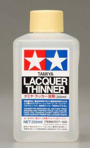 tamiya lacquer thinner