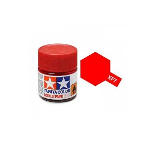 Colore Tamiya XF 7 rosso Opaco