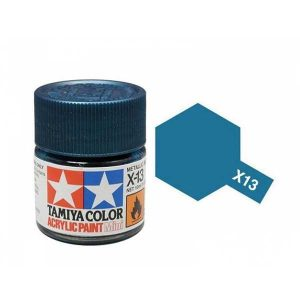 Colori Tamiya Serie X13 blu metallico