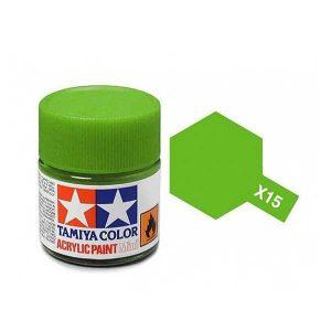 Colore Tamiya X 15 verde chiaro