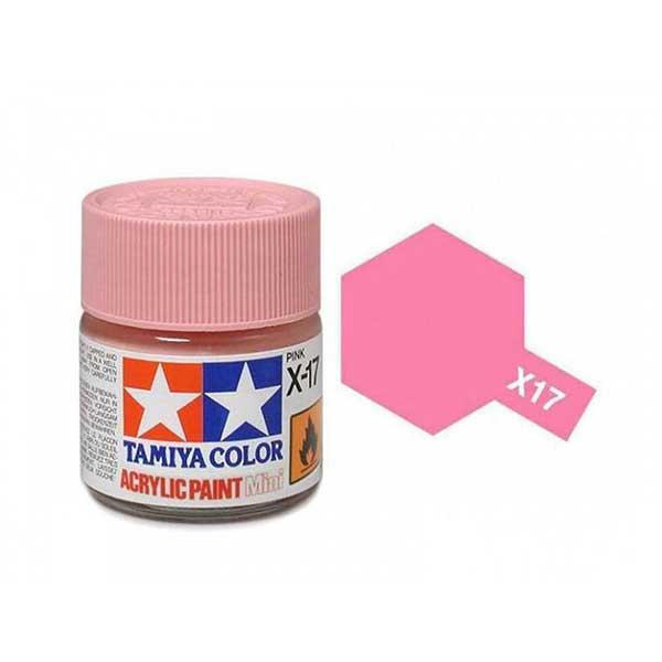 Colore Tamiya X 17 rosa lucido