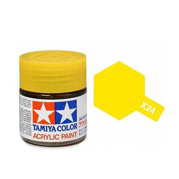 Colori Tamiya Serie X24 giallo chiaro