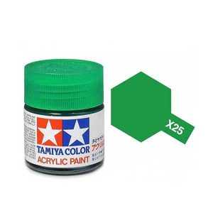 Colore Tamiya X 25 verde lucido