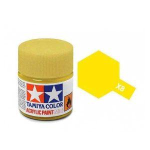 Colore Tamiya X 8 giallo lucido