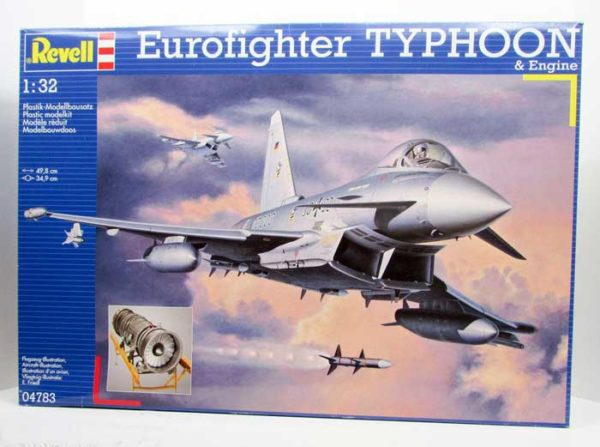 eurofigther typhoon ef-2000 revell