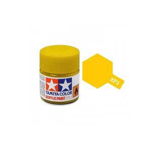 Colore Tamiya XF 3 giallo opaco