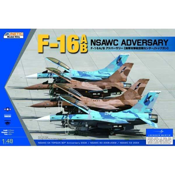 F-16 A/B FIGHTING FALCON KINETIC SCALA1:48
