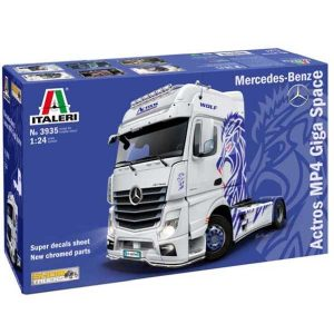 ITALERI CAMION MERCEDES ACTROS MP4 GIGA SPACE 3