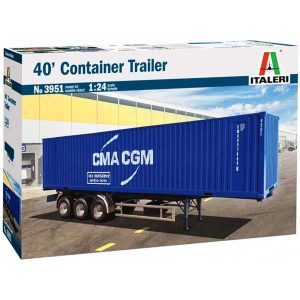 ITALERI RIMORCHIO CONTAINER 40′ TRAILER