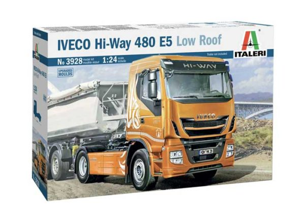 iveco hi-way 480 e5 camion italeri scala 1:24