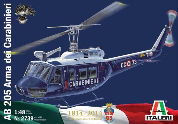 ab 205 arma dei carabinieri italeri
