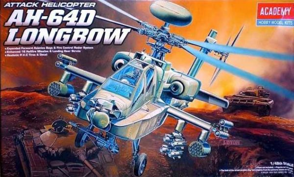 attack helicopter ah-64d longbow academy