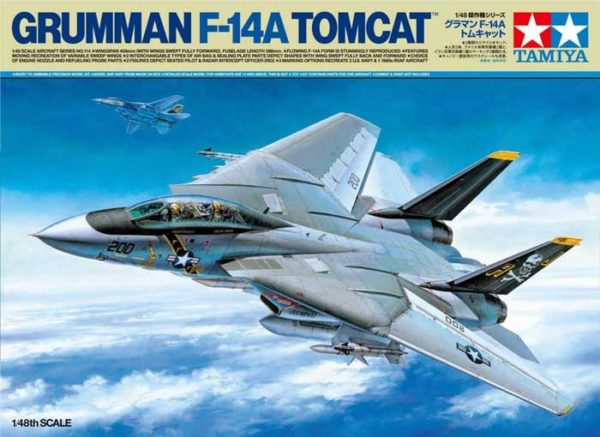 f-14A tomcat tamiya codice 61114 scala 1:48