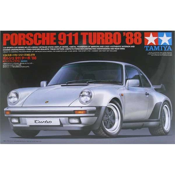 Tamiya Porsche 911 Turbo '88 Scala 1:24