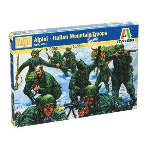 ALPINI TRUPPE MONTAGNE ITALIANE ITALERI Scala 1-72