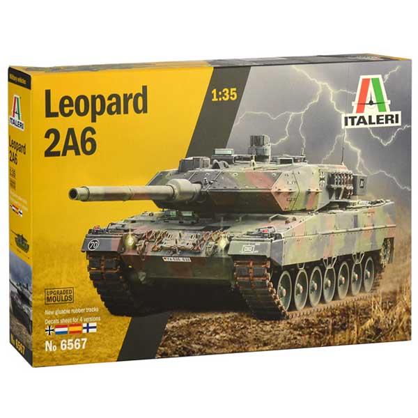 ITALERI LEOPARD 2A6 Scala 1-35 2