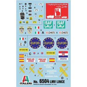 LMV LINCE ITALERI SCALA 1-35 2