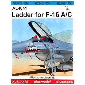 Scaletta F-16 A-C Scala 1-72