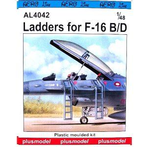 Scaletta F-16 B-D Scala 1-72