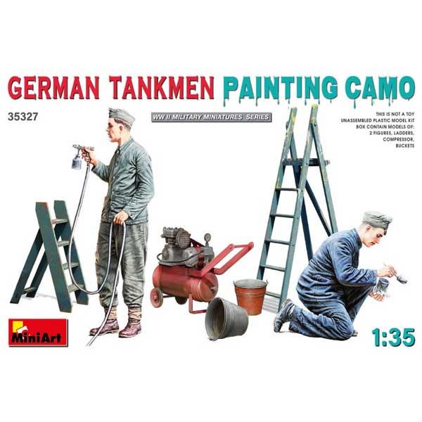 soldati tedeschi in manutenzione miniart 1:35