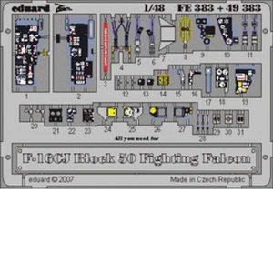 eduard fotoincisioni f-16 cockpit tamiya