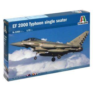 italeri eurofighter ef 2000 typhoon 1355 scala 1:72 37° stormo aeronautica militare italiana