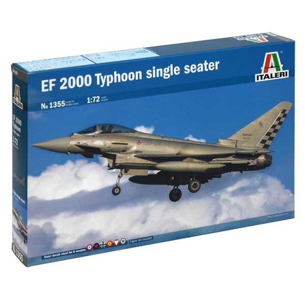 italeri eurofighter ef 2000 typhoon italeri 1355 scala 1:72