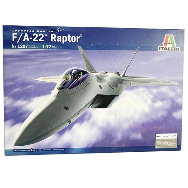 f 22 raptor italeri scala 1:72 1207