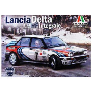 Lancia Delta HF Integrale italeri scala 1:72