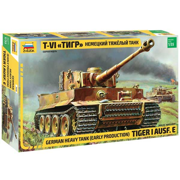 tiger I zevzda scala 1-35