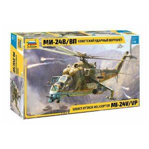 Mi-24V / VP Scala 1:48 zvezda