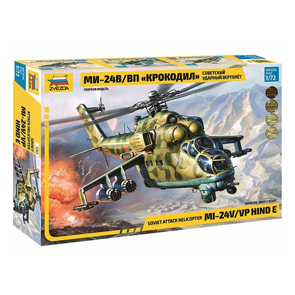 "Mi-24V/ VP ""Crocodil"" Scala 1:72"