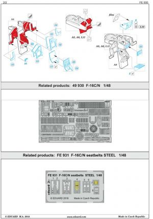 fotoincisioni-eduard-f-16-fe930-istruzioni-2