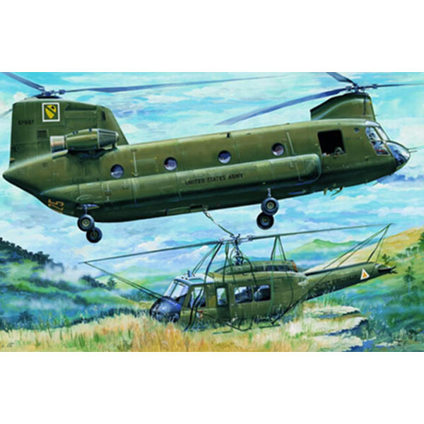 """CH-47A """"CHINOOK"""" TRUMPETER SCALA 1/35"""