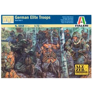 German Elite Troops Italeri Scala 1:72 IT6068