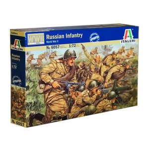 Russian Infantry Italeri Scala 1:72