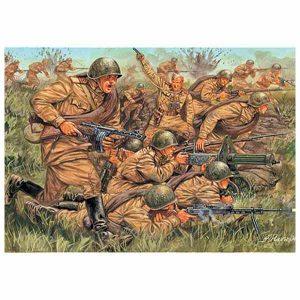 Russian Infantry Italeri Scala 1:72