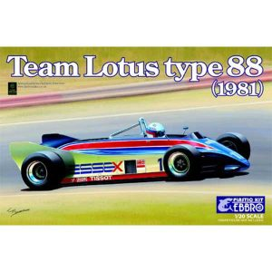 TEAM LOTUS TYPE 88 EBBRO AUTO scala 1 20