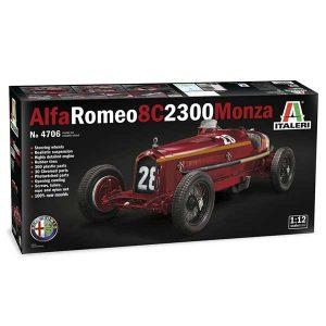 alfa romeo c8 monza italeri scala 1:12 4706