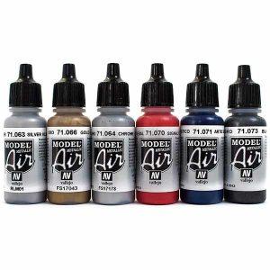 colori vallejo model air colori acrilici per modellismo