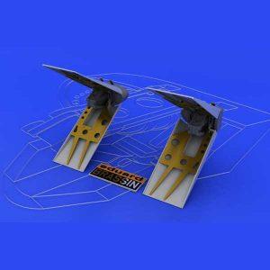fotoincisioni f-16 Air Brakes eduard 648039