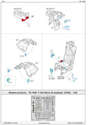 fotoincisioni-f-16C-eduard-fe1048-istruzioni-2